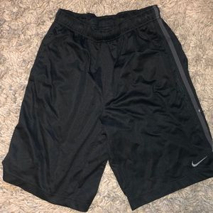 2 Black Nike Basketball shorts